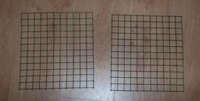 Как сделать решетку для клетки