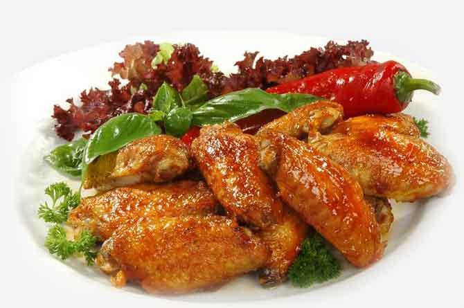 крылышки на мангале рецепт с фото