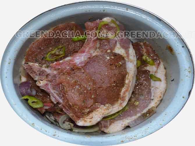 рецепт свиные котлеты на косточке рецепт