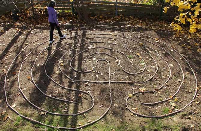 Лабиринт в детском саду своими руками 56