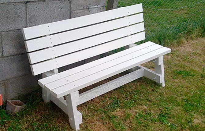 Как правильно сделать садовую скамейку