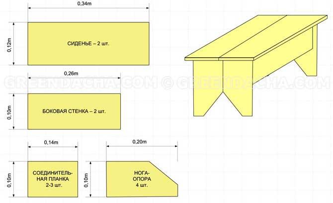 О стол из картона схемы